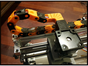 Cable chain (and addons) for auluminium profiles, CNC routers/engravers