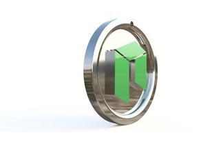 NEO cryptocurency keychain
