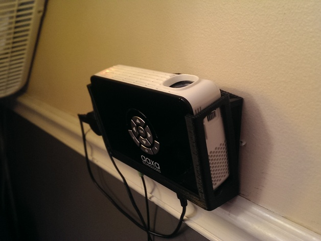Micro projector wall to ceiling mount by redwagon for Micro projectors 2016