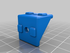 Corner Connectors with Guides for 2020 extrusions