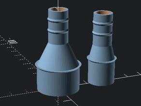 Different diameter pipe union