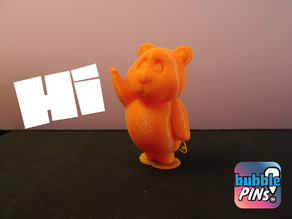 Teddy Bear Waving Hi!