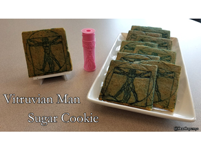 Vitruvian Man Cookie/Clay Roller