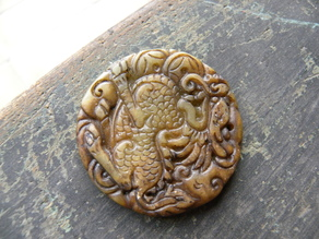 Foo Dog Medallion