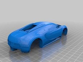 Bugatti Veyron Pinewood Derby