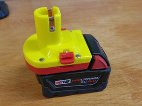Milwaukee M18 to Ryobi Battery Adapter