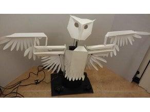 Worry Birds (Robotic Owl designed by Ainsworth, Lucas B)
