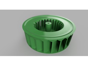 Centrifugal Exhaust Fan, 118mm