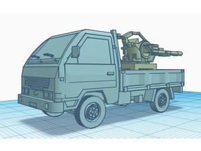 Small truck Zu-23