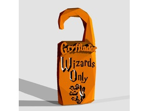 """Wizards Only"" Gryffindor - by Objoy Creation"