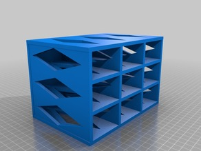 Nine Drawer Storage Cabinet (plastic saver) remix