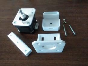 New rack actuator for NEMA17