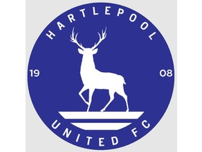 Hartlepool FC Badge
