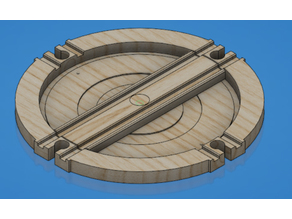 Turntable to suit Fisher Price Thomas & Friends wooden railway