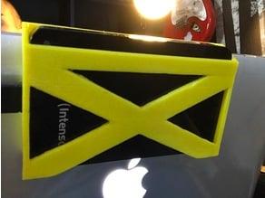 Harddrive laptop hanger