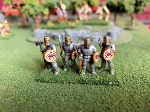 15mm HotT Knights of Serbia Army - Knight Spears/Blades