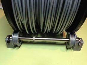 Soporte universal para filamento, con rodamientos 608ZZ