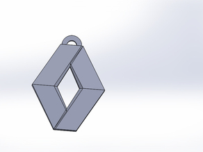Logo Renault keychain