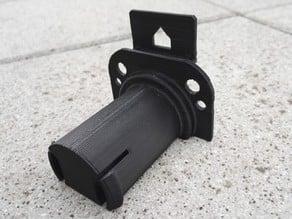 Easy to print FlashForge Creator Pro 50mm filament holder