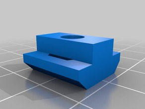 My Customized parametric T-nut for CNC3018