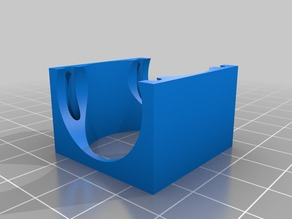 30mm Fan Cooling Bracket - for Heat Sink - Parameterisable