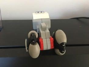 Lego adapter for Interroll OmniWheel