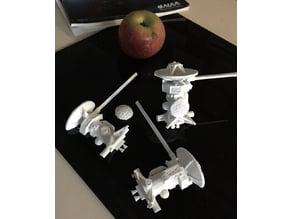 Cassini-Huygens small model