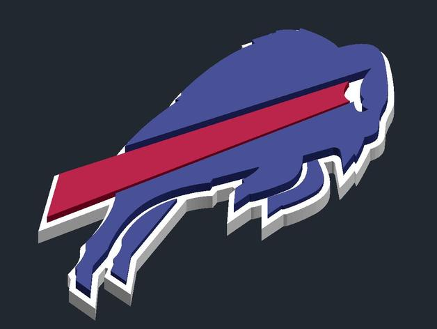 Buffalo Bills Logo By Csd Salzburg Thingiverse