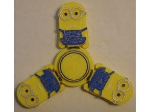 Minion Fidget Spinner - Wingnut2k