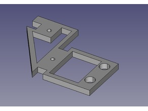 Parametric Top-mount for Geeetech Prusa I3 ProB