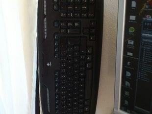 wall mount for logitech ex110 keyboard