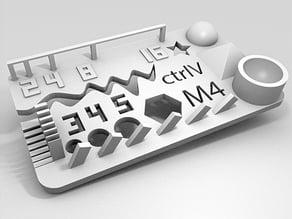 Test your 3D printer! v2
