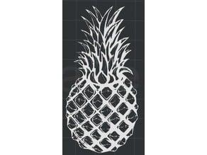 Pineapple 2D Wall Art