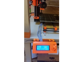 Original prusa i3 mk2 LCD holder for ikea lack table with screwholes
