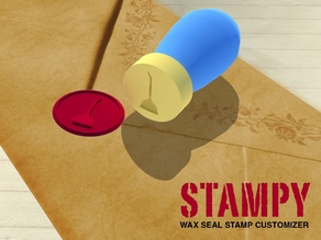 STAMPY - Wax Seal Stamp Customizer