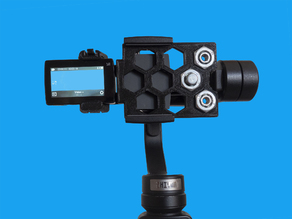 Action cam adapter for Zhiyun Smooth 4