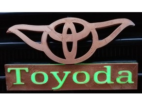 Toyoda emblem and text (86 2WD)