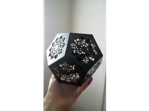 Dodecahedron lampshade