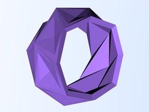 Cyber Ridge Geometric Ring