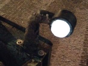 Customizable cap for trailer light