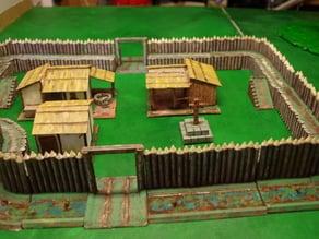 Saxon Burh - walls