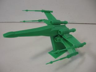 Star Wars X-Wing - sliced to print without support, and with stand