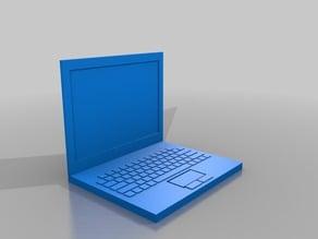 Laptop Computer - Barbie Sized