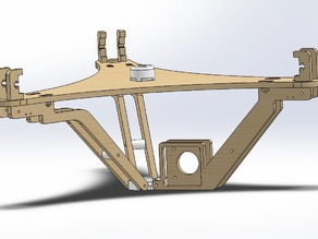 DeltaPrintr Extruder Relocation + Stiffening Brackets