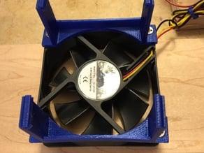 80mm fan bracket for Mega 2650 & Ramps 1.4 (need 2 brackets for 1 fan)