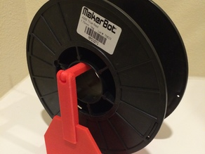 Easy Change Filament Holder #FilamentChallenge