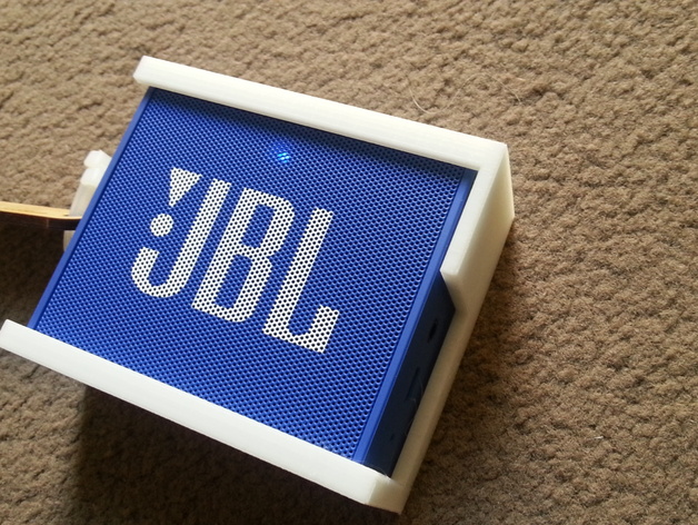 jbl go speaker cover by gsmithwa thingiverse. Black Bedroom Furniture Sets. Home Design Ideas