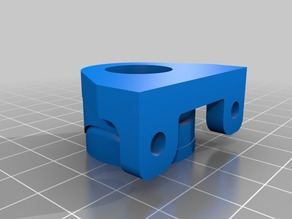 Low Profile Oldham Coupler for Tevo Tarantula (or any 20x40 aluminum extrusion printer)