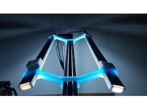 Double LED light Hanger Cr-10
