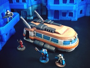 Space Bus (15mm scale)